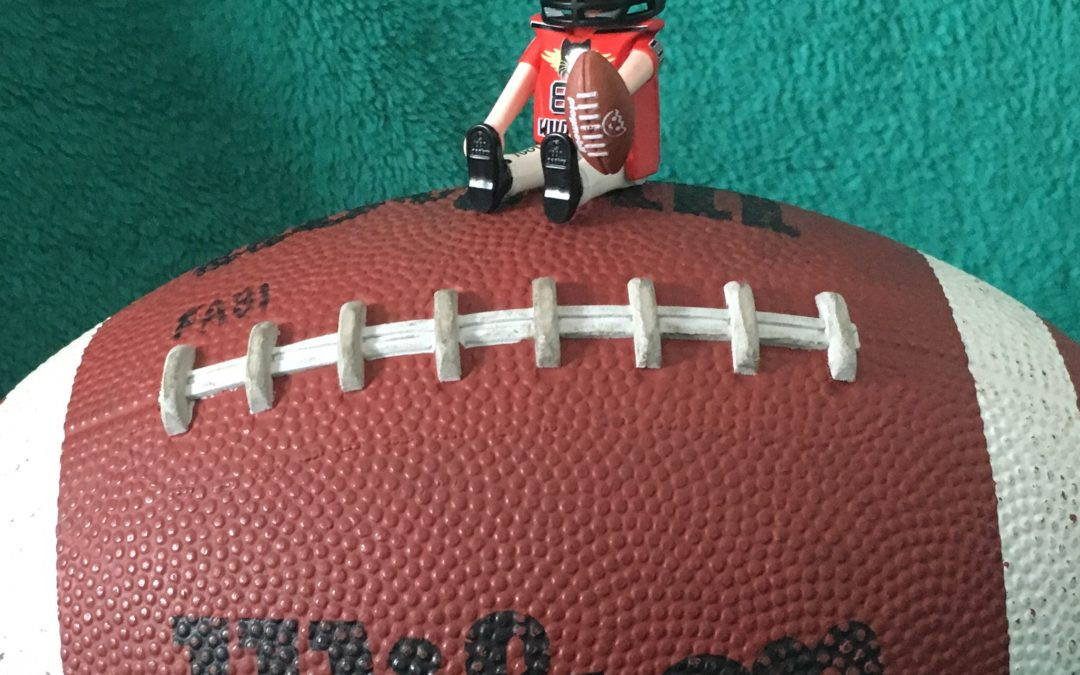 Playmobil Figur Footballer auf Football
