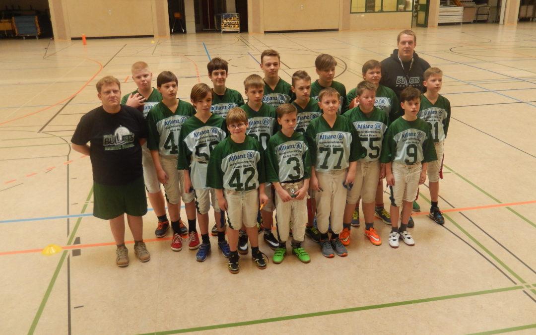 Foto der Mannschaft, aufgenommen vor dem Turnier