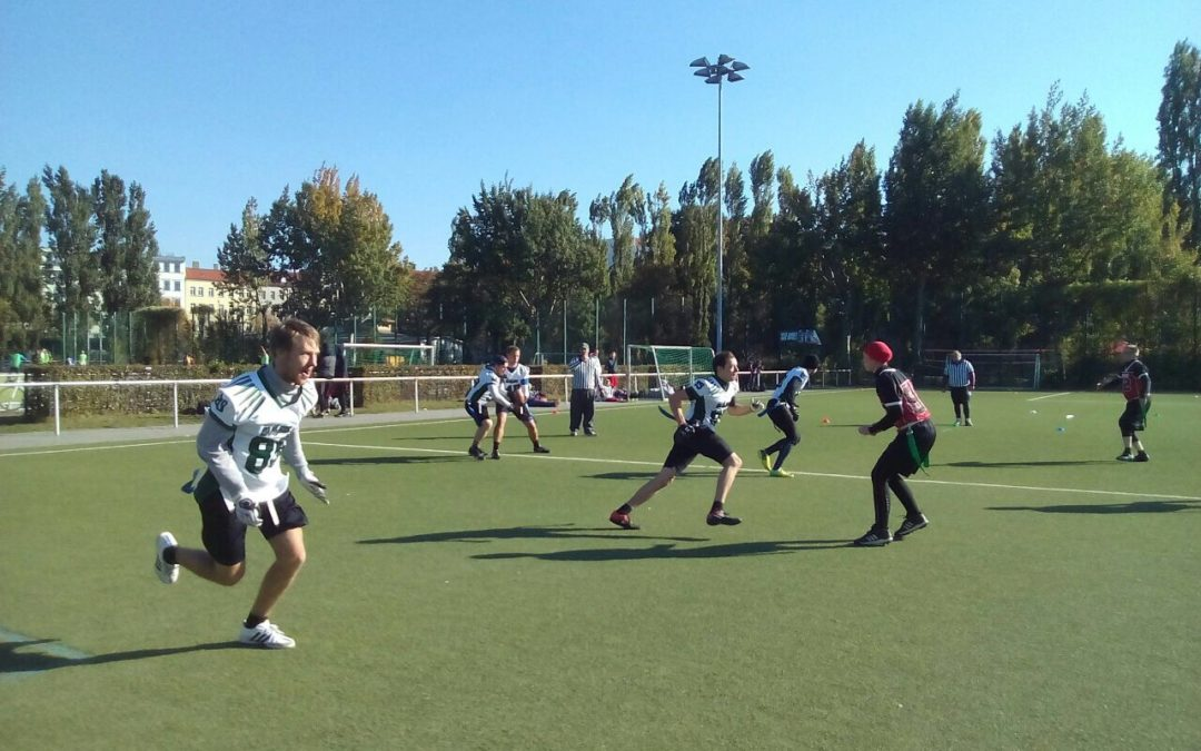 Bullets starten Senior-Flag-Football