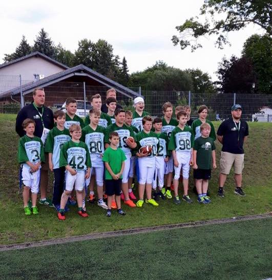 Foto zeigt die Mannschaft