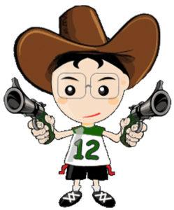 Logo Bullets Gunslingers