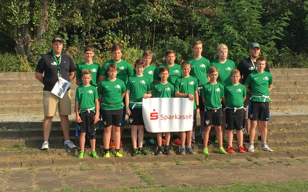 zeigt die Bullets Gunslingers in Cottbus 2016