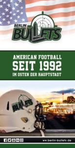 zeigt den Image-Flyer der Berlin Bullets 2016