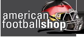 zeigt das Logo vom American Footballshop