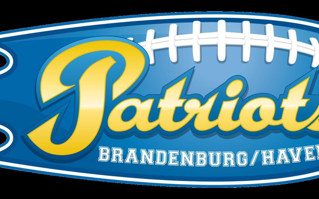 zeigt das Logo der Brandenburg Patriots