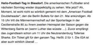 Screenshot Tagesspiegel Newsletter Marzahn-Hellersdorf vom 16.05.2017