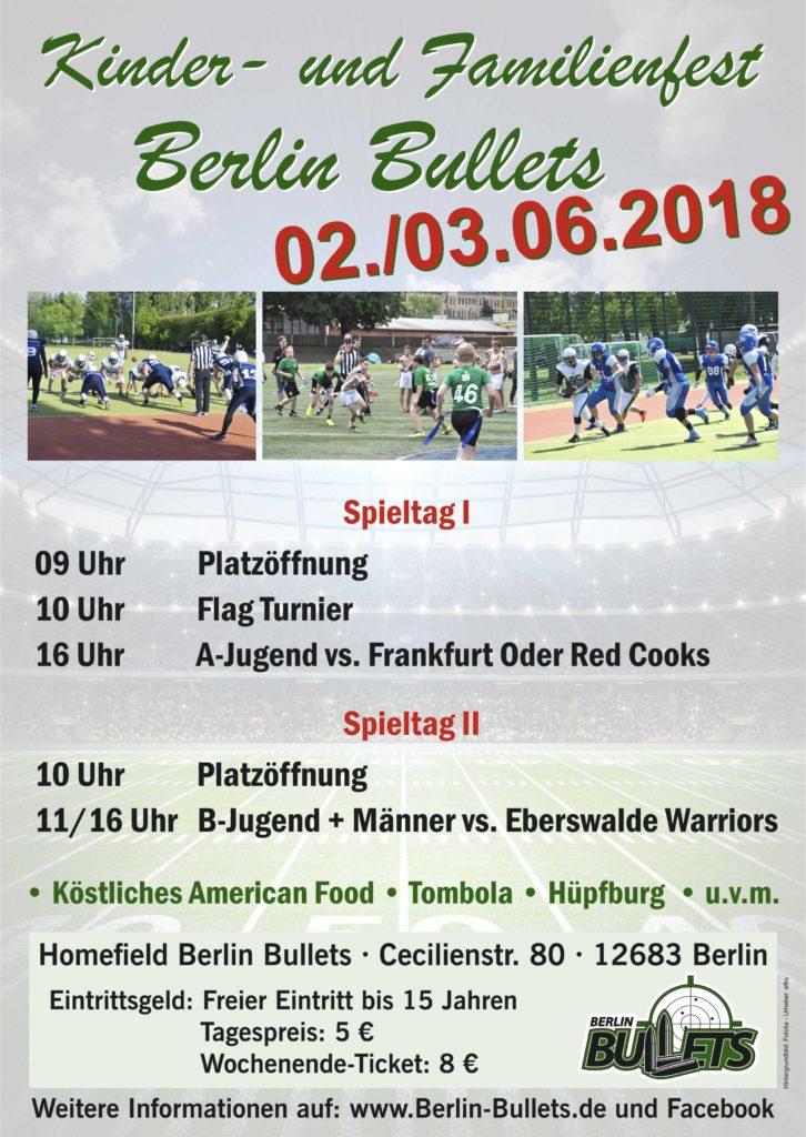Kinder- und Familienfest Homefield 02.-03.06.2018