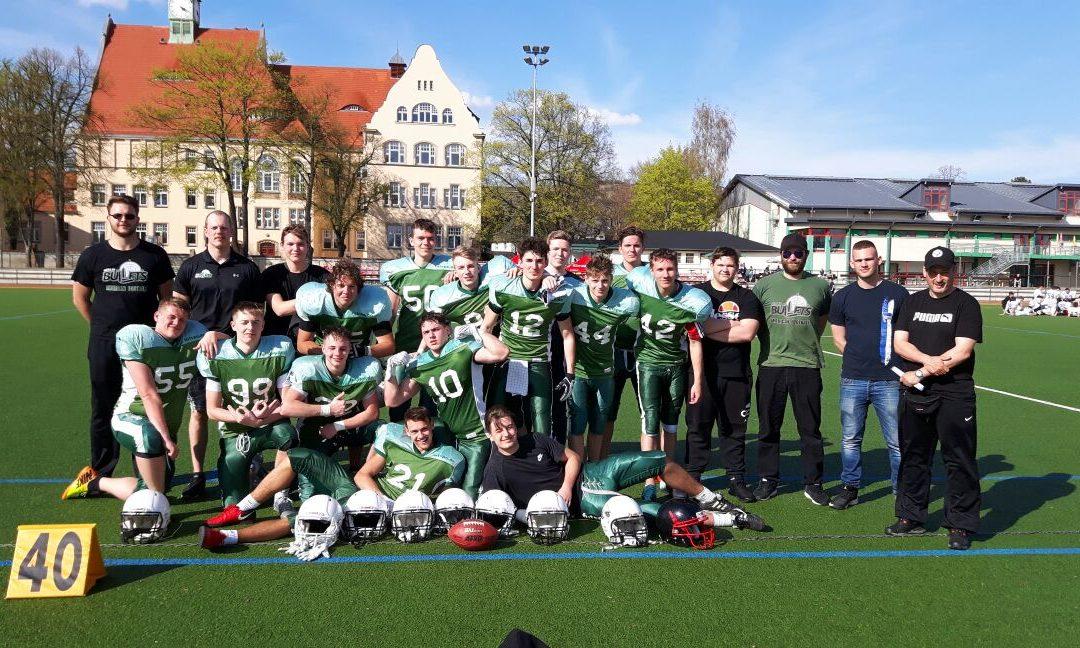 Suburbian Foxes vs Bullets A-Jugend 14.04.2018 Testspiel Teamfoto
