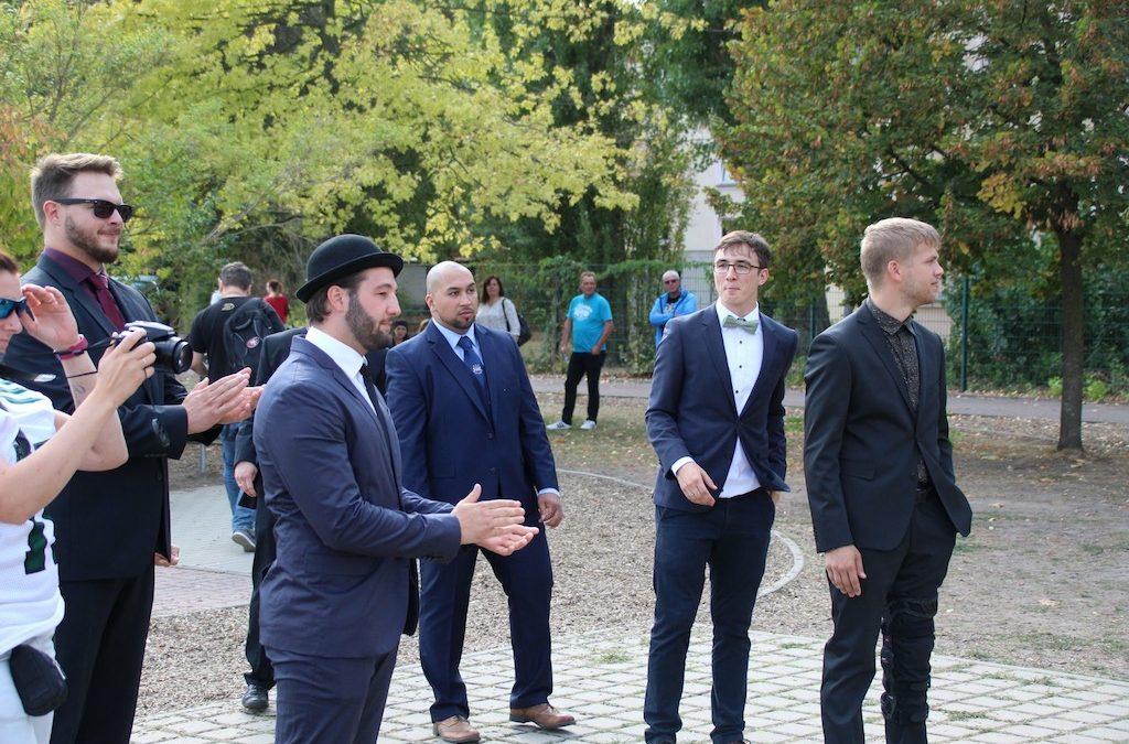 Coaches im Anzug Bullets vs Vandals 16.09.2018