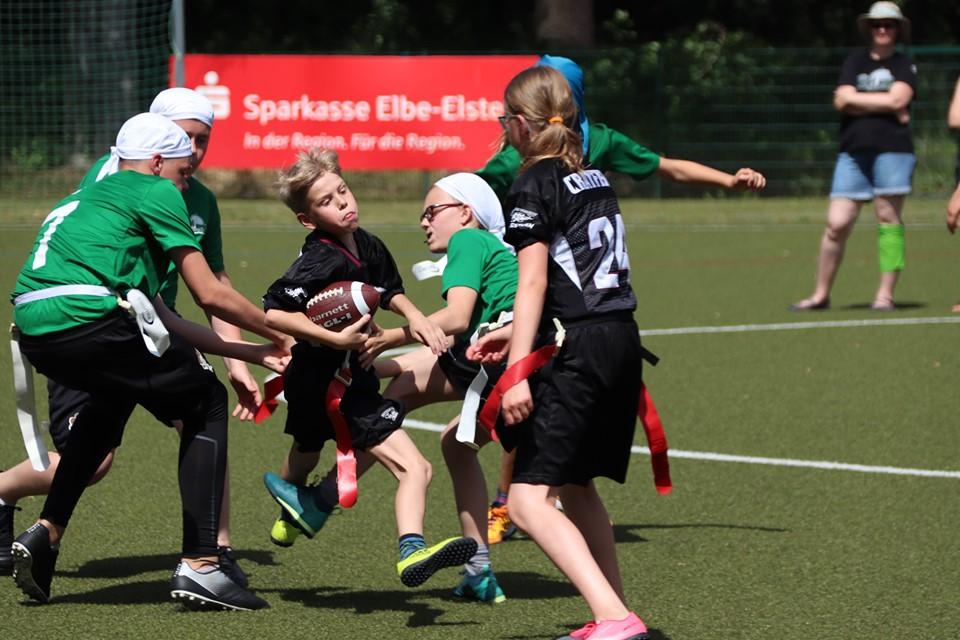 Fazit zur ersten Saisonhälfte im Bereich Flag Football